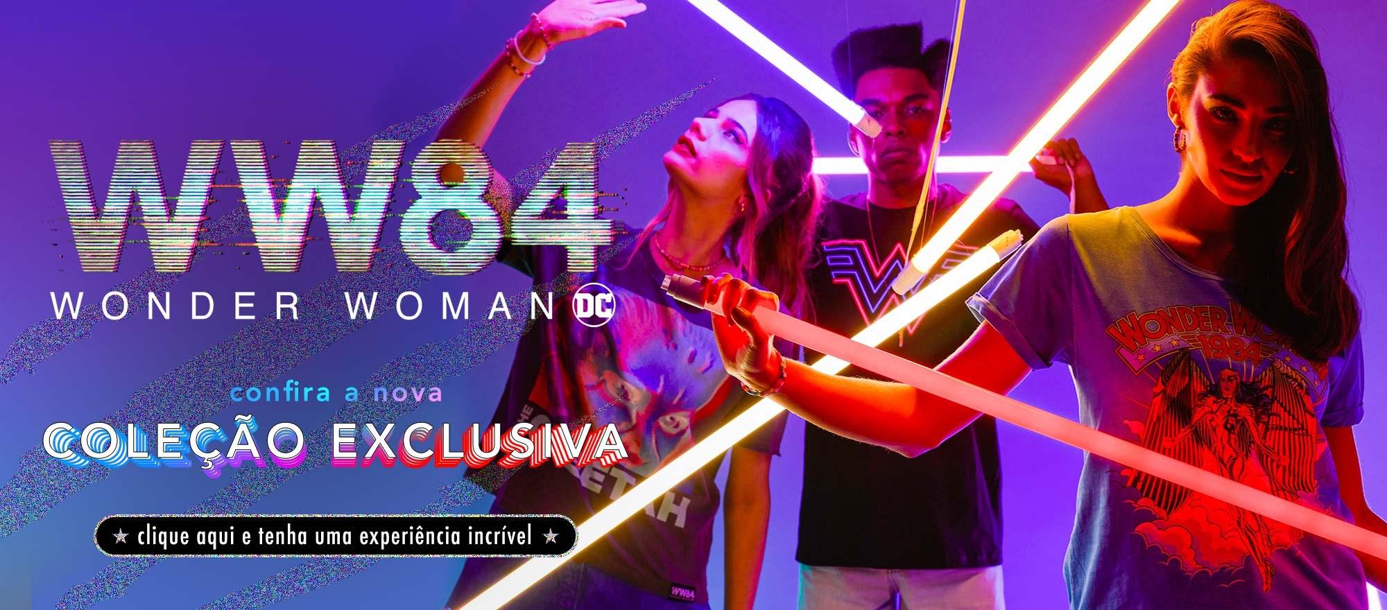 Home desktop - Mulher Maravilha 1984