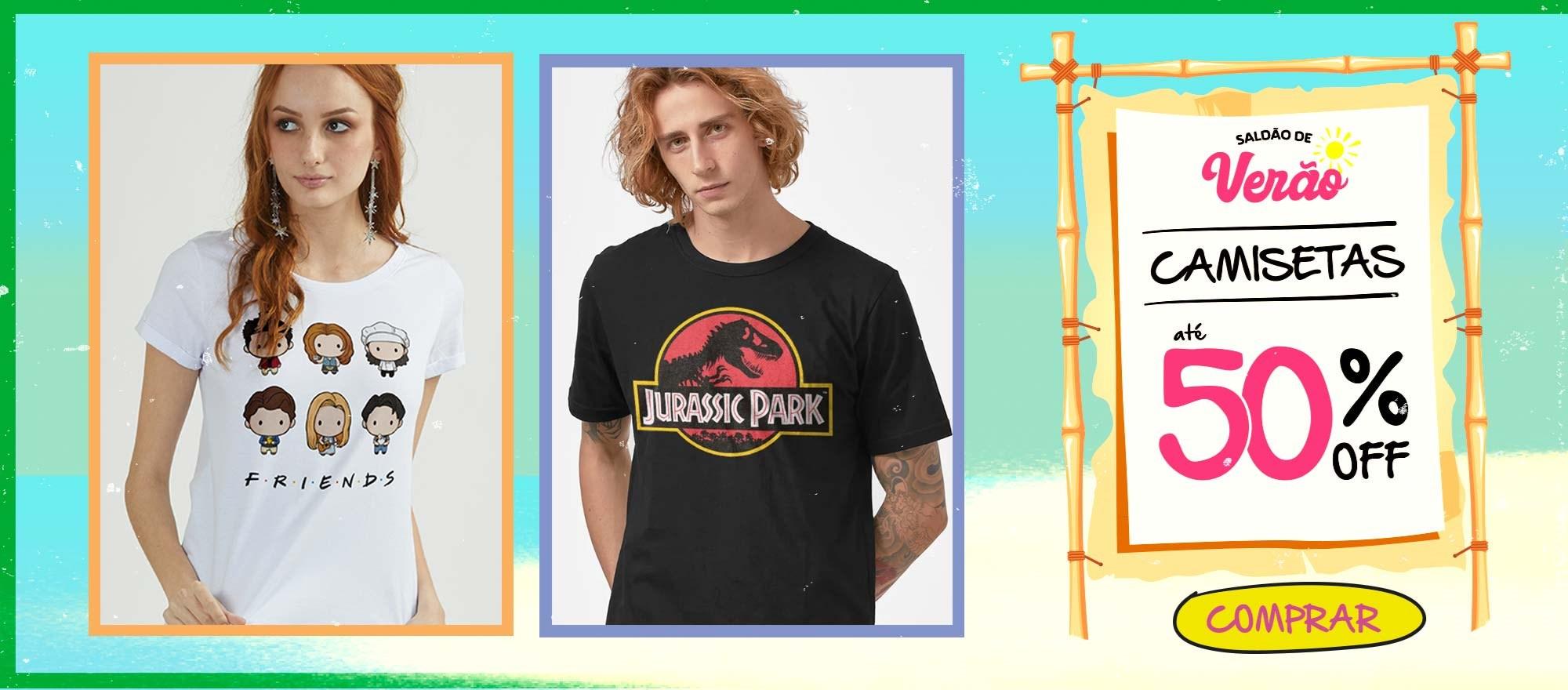 Banner Home - Saldão de Verão Camisetas