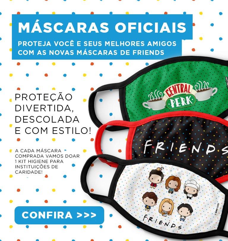 Home Mobile - Máscaras Friends