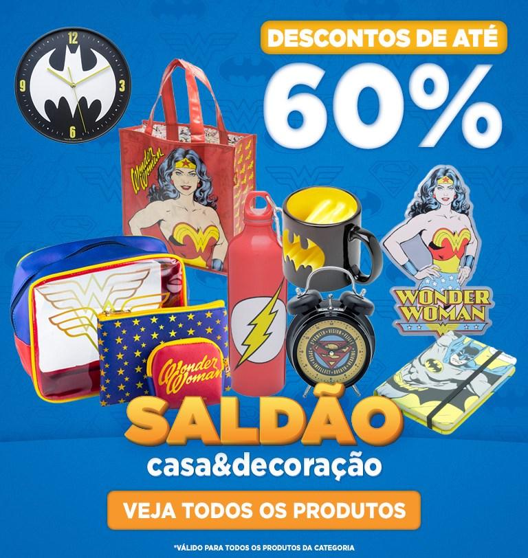 Banner Mobile - Saldão DC Comics