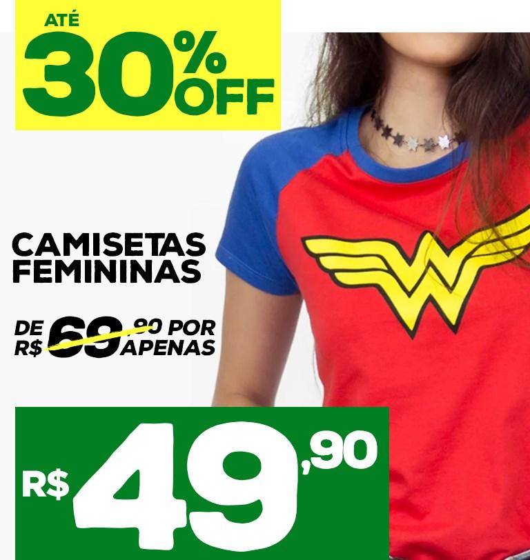 30% desconto feminino