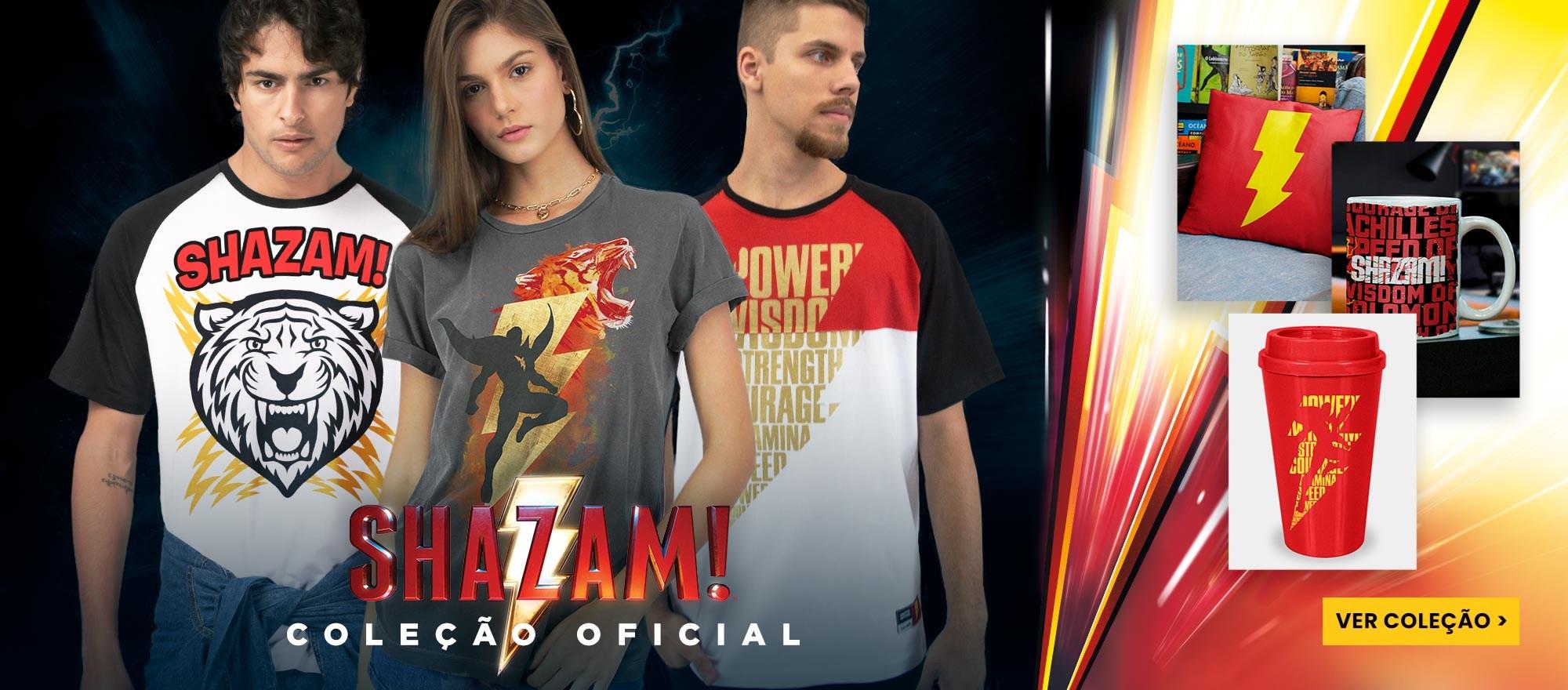 Banner Home - Shazam