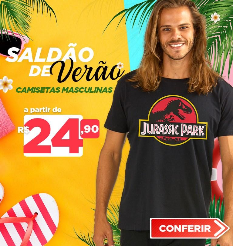 Camiseta Masculina Saldão de Verão 2021 Mobile