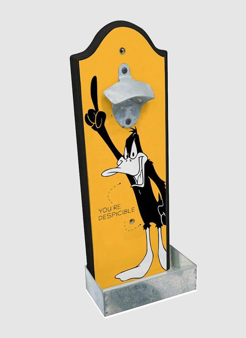 Abridor de Garrafas Looney Tunes Patolino Você é Desprezível