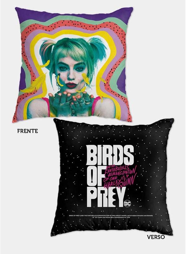Almofada Birds of Prey Harley Quinn - Aves de Rapina