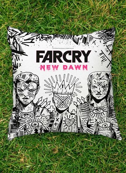 Almofada Far Cry New Dawn Mickey e Lou