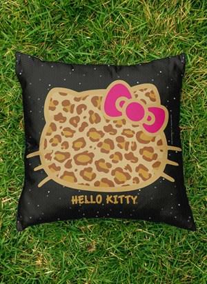 Almofada Hello Kitty Print Fuzzy
