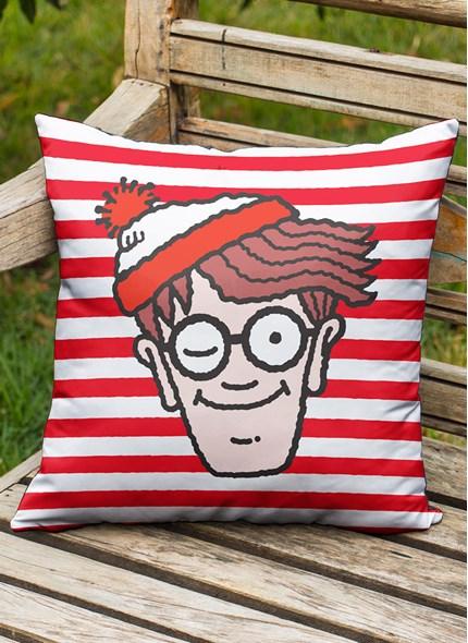 Almofada Onde está o Wally? Face