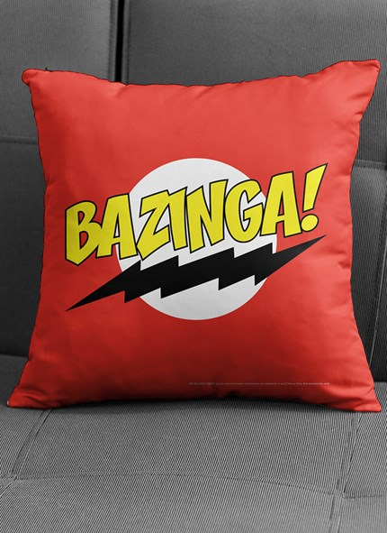 Almofada The Big Bang Theory Bazinga Clássica