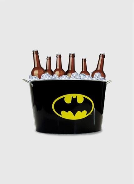 Balde de Gelo Batman Logo