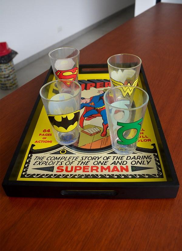 Bandeja Superman HQ