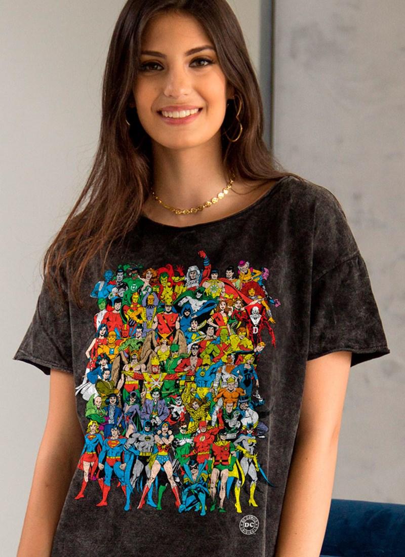 2af88a60bb Blusa DC Comics Originals Feminina Comprar Agora bandUP! Store