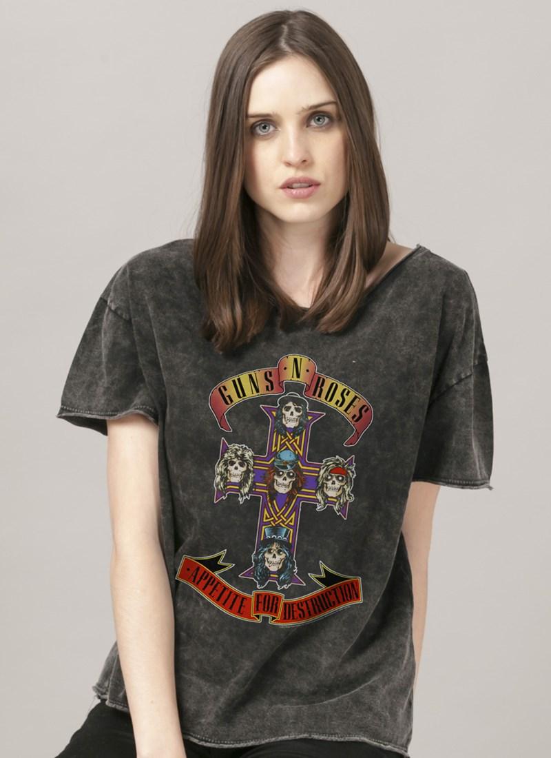 Blusa Guns N' Roses Appetite For Destruction