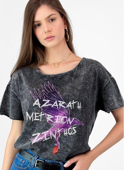 Blusa Teen Titans Ravena Azarath Metrion Zinthos