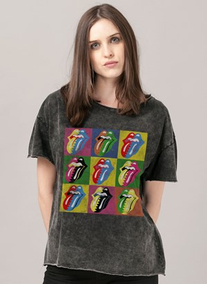 Blusa The Rolling Stones Pop