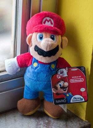 Boneco de Pelúcia Super Mario