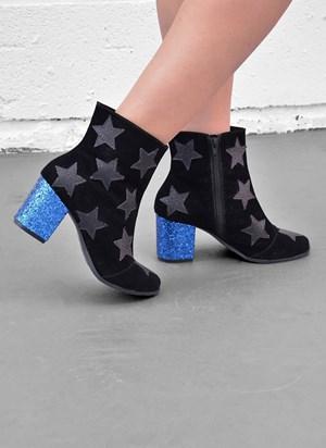 Bota Mulher Maravilha Star Glitter