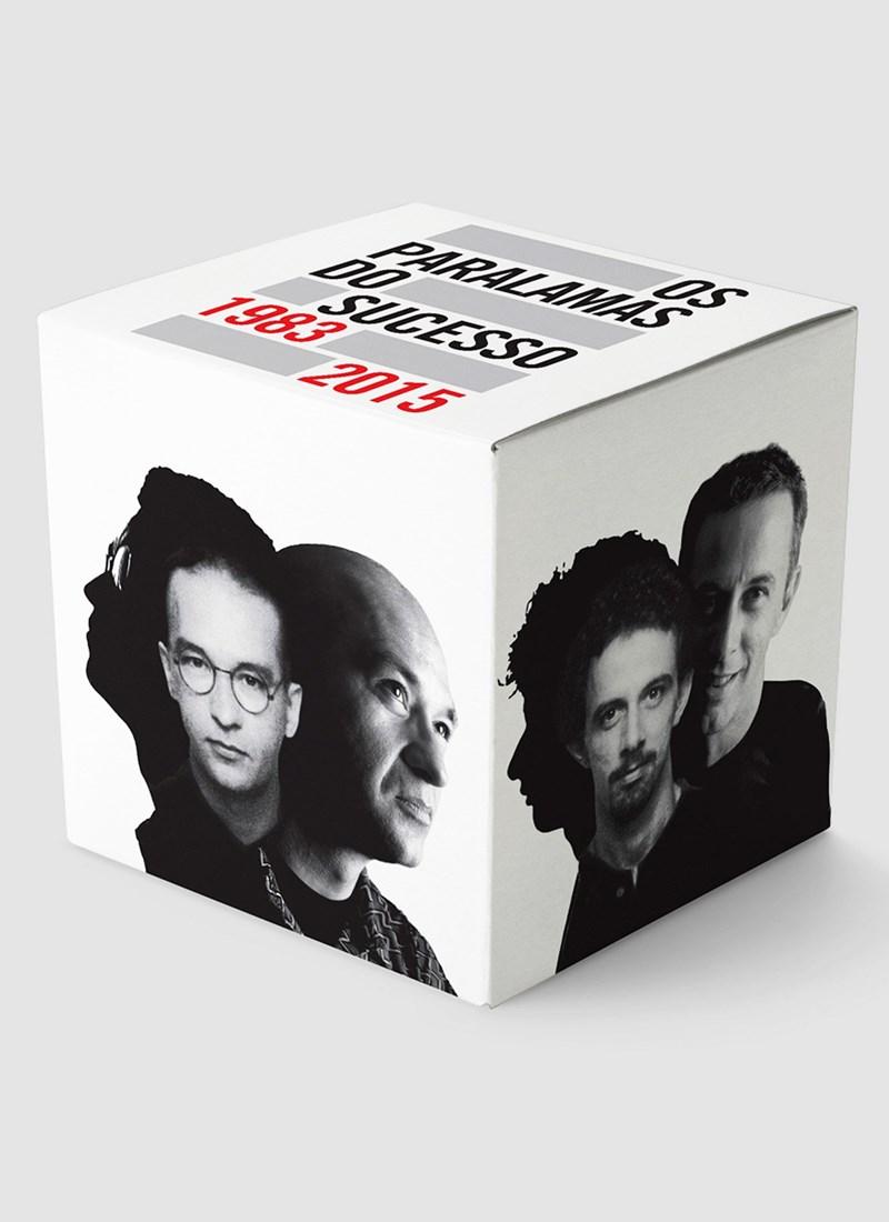 Box CDs Os Paralamas do Sucesso 1983-2015