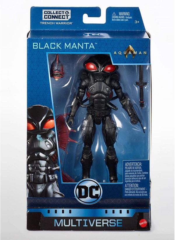 Box Mattel Multiverse Black Manta