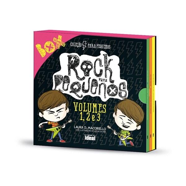Box Rock Para Pequenos - Volumes 1, 2 e 3