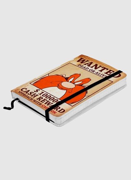Caderneta de Anotações Eufrazino Procurado
