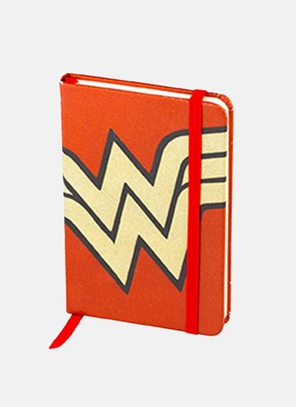 Caderneta de Anotações Mulher Maravilha Core Gold
