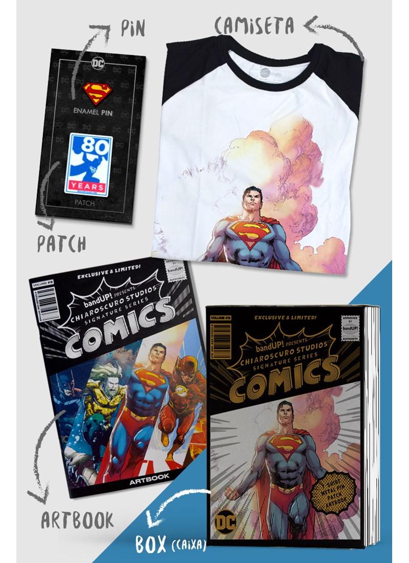 Caixa Box Superman Chiaroscuro 2018