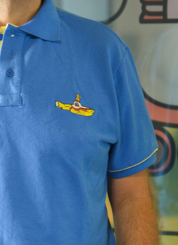 Camisa Polo The Beatles Yellow Submarine