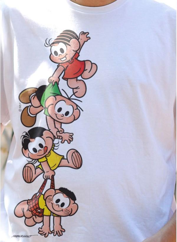 Camiseta A Turma da Mônica Kids