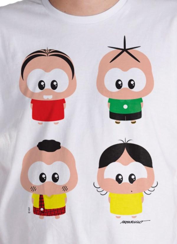 Camiseta A Turma da Mônica Toy