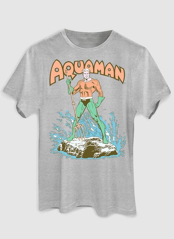 Camiseta Aquaman Classic Hero