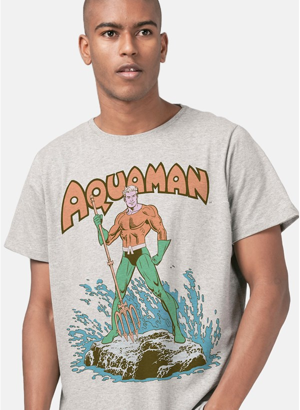 Camiseta Aquaman Classic Hero