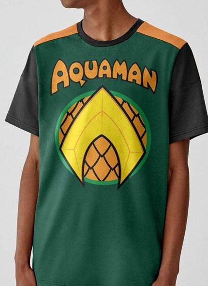 Camiseta Aquaman Logo