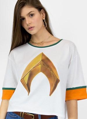 Camiseta Aquaman Logo Movie