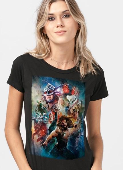 Camiseta Aquaman Pôster