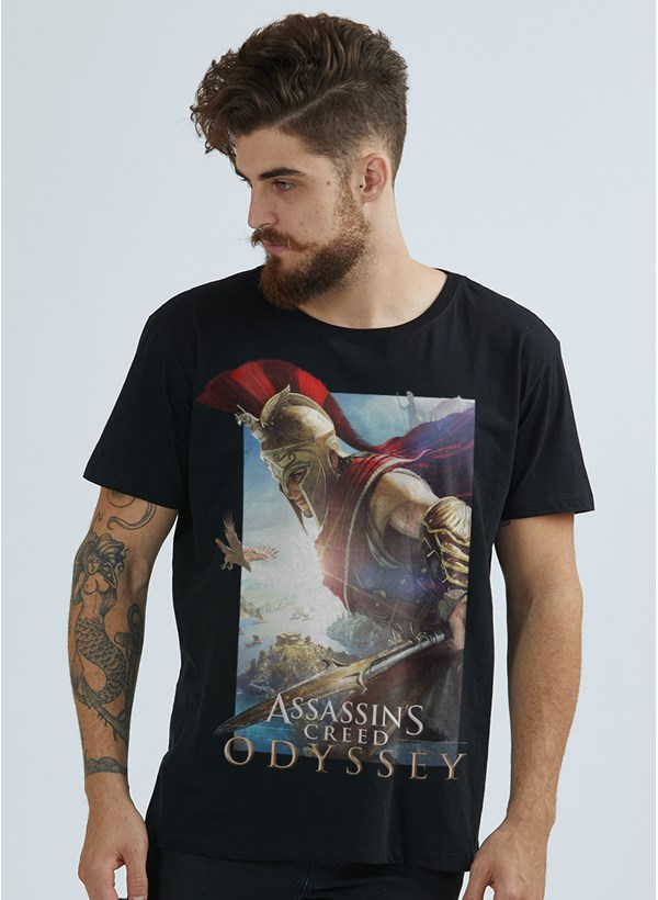 Camiseta Assassin's Creed Odyssey Cover