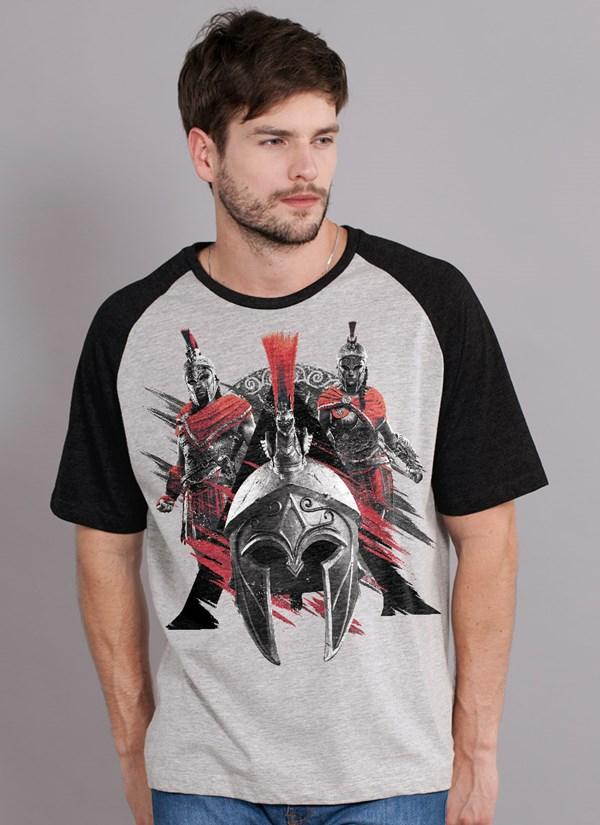 Camiseta Assassin's Creed Odyssey Espartanos