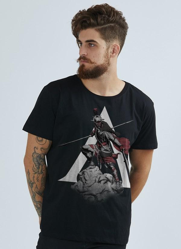 Camiseta Assassin's Creed Odyssey Statue
