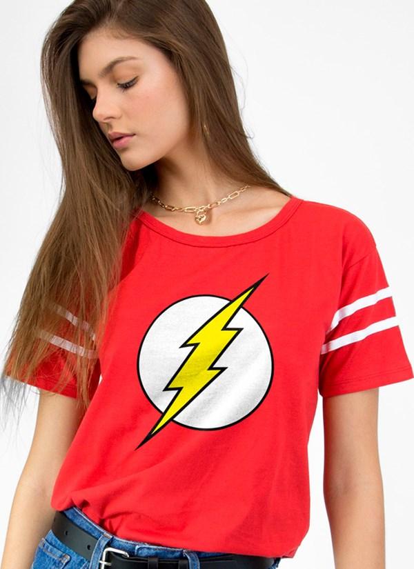 Camiseta Athletic The Flash Logo