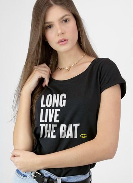 Camiseta Batman 80 Anos Long Live The Bat
