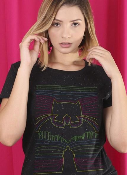 Camiseta Batman Linhas Neon
