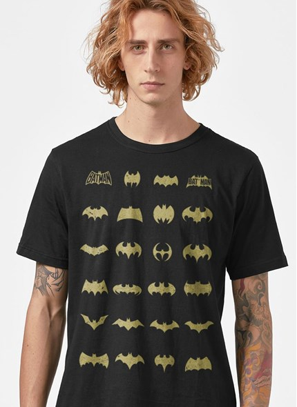 Camiseta Batman Logos Colletion