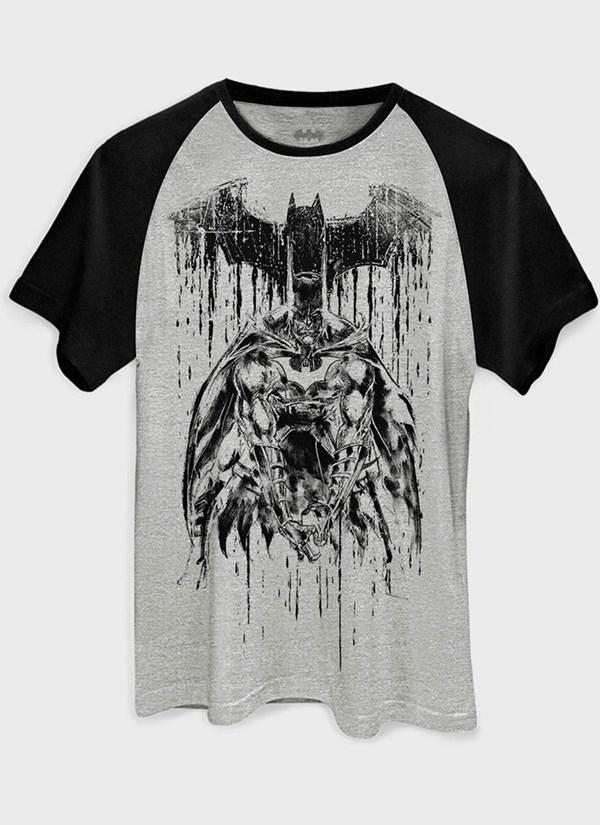 Camiseta Batman Melting Sketch