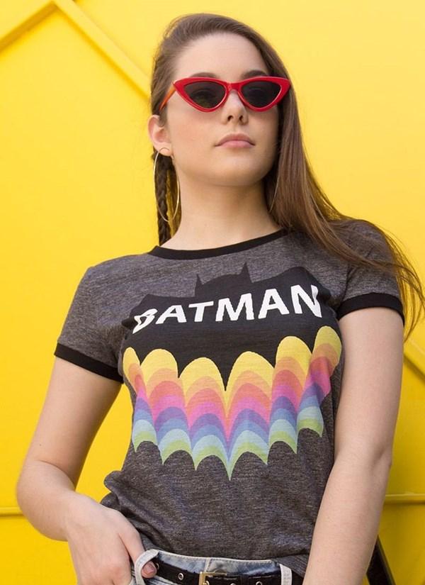 Camiseta Batman Rainbow
