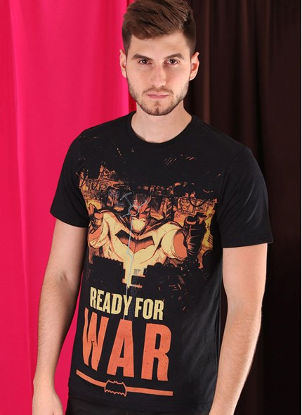 Camiseta Batman Ready for War