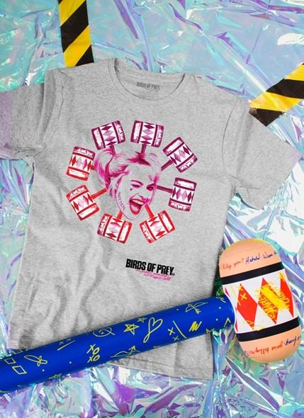 Camiseta Birds of Prey Harley Quinn Marreta - Aves de Rapina