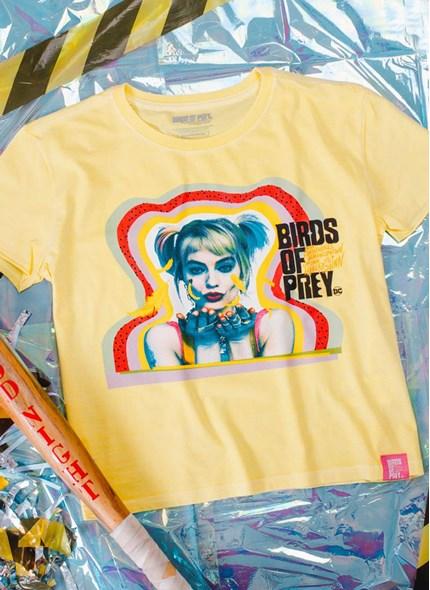 Camiseta Box Birds Of Prey