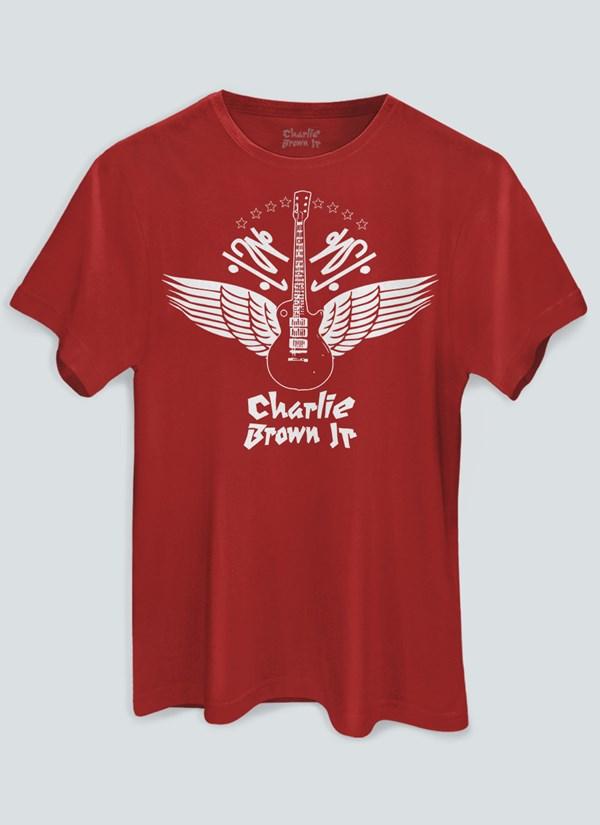 Camiseta Charlie Brown Jr. Imunidade Musical