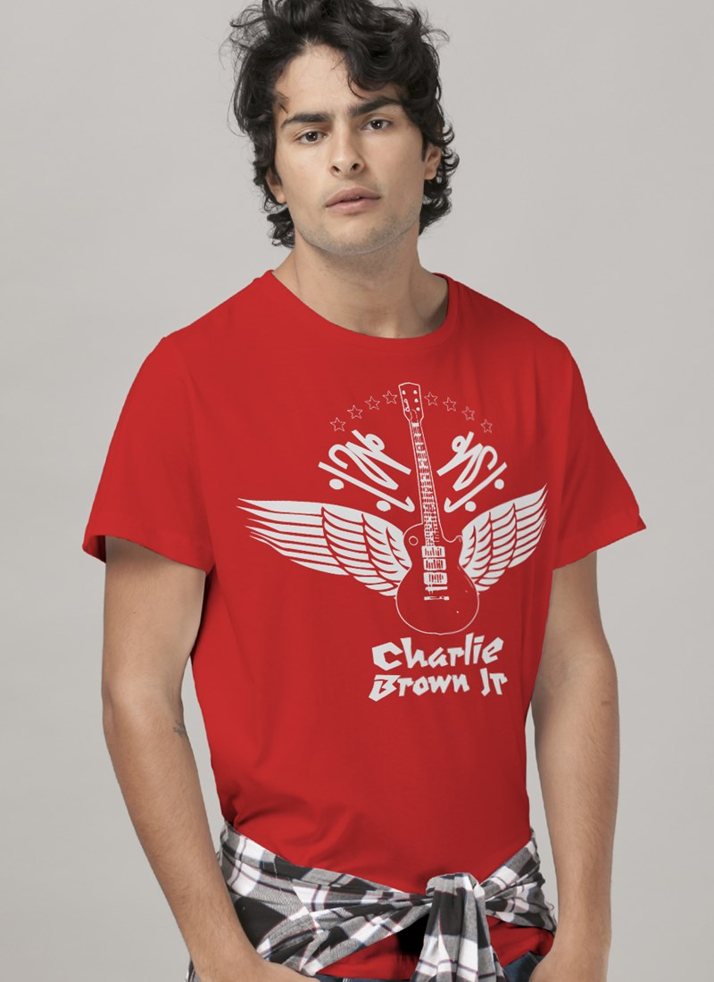Camiseta Charlie Brown Jr. Imunidade Musical
