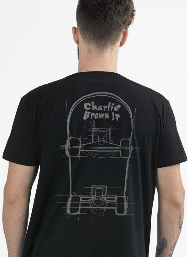 Camiseta Charlie Brown Jr. Skate